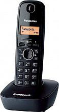Panasonic Telefono cordless con funzione Dect. col. Nero KXTG1611 nero