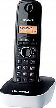 Panasonic KX-TG1611JTW Telefono cordless DECT 50 voci Rubrica Bianco