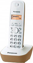 Panasonic KX-TG1611JTJ Telefono cordless KXTG1611 Brown