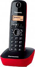 Panasonic KX TG1611 JTR Telefono cordless con funzione Dect. col. Rosso