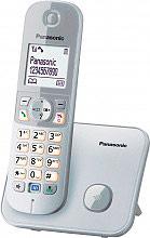 Panasonic KX TG6811JTS Telefono Cordless DECT con Vivavoce col. Silver
