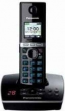 Panasonic KX TG8061JTB Telefono cordless con Segreteria Telefonica  nero