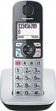 Panasonic KX-TGE510JTS Telefono Cordless DECT Vivavoce Amplificazione Volume