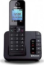 Panasonic KX-TGH260JTB Telefono Cordless DECT GAP Vivavoce Bluetooth Nero