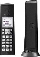 Panasonic KX-TGK210JTB Cordless Telefono Fisso DECT sistema blocco chiamate Nero KX-TGK210JT