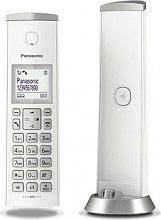 Panasonic KX-TGK210JTW Cordless Telefono Fisso DECT sistema blocco chiamate Bianco KX-TGK210JT