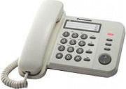 Panasonic KX-TS520EX1W Telefono fisso a filo