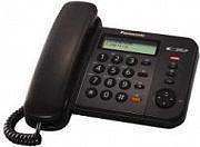 Panasonic Telefono fisso a filo col. nero XTS580EX1B