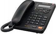 Panasonic Telefono fisso a filo Segreteria Tasto Re-Dial Nero - KX-TS620EXB