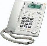 Panasonic Telefono fisso a filo Vivavoce Col. Bianco - KX-TS880EXW