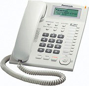 Panasonic KX-TS880EXW Telefono fisso a filo Vivavoce Col. Bianco