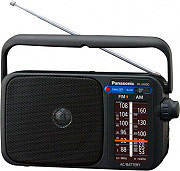Panasonic RF-2400D Radio Portatile Analogica AM  FM a Batterie Nero