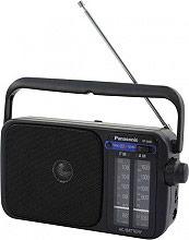 Panasonic Radio portatile Analogica AMFM Nero - RF-2400