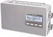 Panasonic Radio Portatile Digitale DAB FM Potenza 2 Watt Bianco RF-D10EG-W