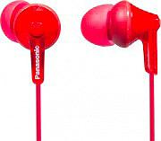 Panasonic RP-HJE125E-R Cuffie Stereo Auricolari Cuffiette Mp3 Jack 3.5 col Rosso