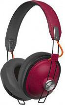 Panasonic RP-HTX80BER Cuffie Bluetooth Stereo ad Archetto Wireless Bordeaux
