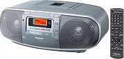 Panasonic Radio Portatile Digitale AMFM Lettore cassette CD MP3 - RX-D50AEG-S