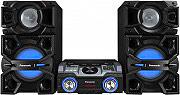 Panasonic Mini Hi-Fi Lettore CD MP3 2400W Radio AM FM Bluetooth USB SCMAX4000EK
