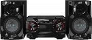 Panasonic Sistema Mini Hi-Fi 2 vie 400W Lettore CD Subwoofer SC-AKX200E-K