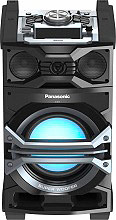 Panasonic Sistema Mini Hi-Fi Audio 3-vie 1000W Aux USB Bluetooth SC-CMAX5E-K