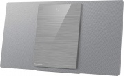 Panasonic SC-HC412EG-S Mini Hi Fi BlueTooth RMS 40W Lettore mp3 porta USB Argento SC-HC412EGS
