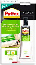 Pattex 1509343 Sigillante acrilico per Muri e Fessure Bianco Tubo 60 ml