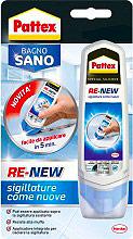 Pattex 2099602 Silicone pronto alluso con Appliccatore Bianco Bagno 100 ml