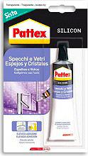 Pattex 2106198 Silicone neutro Trasparente Sigillante Vetri e Specchi 50 ml