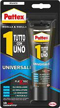 Pattex 2113543 Adesivo Sigillante Universale Bianco 142 gr  Tutto con Uno