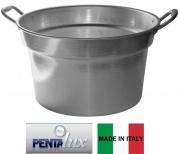 Pentalux 02126 Caldaia Alluminio cm 26 Manici Alluminio