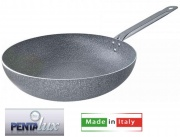 Pentalux 15936 Padella Saltapasta cm 36 Stone Line Manico Metallo