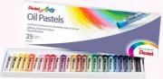 Pentel 100525 Confezione 25 Pastelli Ad Olio Conf.Ass