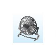 Perenz 7008N Mini Ventilatore da Tavolo USB ø Pale 13 cm colore Nero