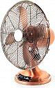 Perenz 7010 RM Ventilatore da Tavolo a Pale ø 35 cm Oscillante 3 Velocità Rame