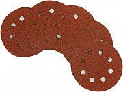 Pg Tools Disco Abrasivo Flessibile Grana 80 Smerigliatrice 125 mm 10 pz 349.75