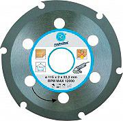 Pg Tools 419.90 Disco da taglio per Legno Diametro 115 mm foro 22.2 mm