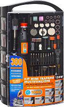 Pg Tools PG141W Mini Trapano Multifunzione Incisore Kit 300 Acc. potenza 135 W