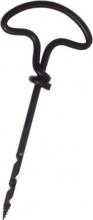 Pg Tools 591.00 Trivellino Legno in Acciaio BL