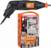 Pg Tools PG138W Mini Trapano Elettrico a Mano Batteria Kit 350 Accessori 135 W