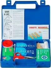 Pharma + Cassetta Pronto Soccorso Completa per Auto o Barca 24x17x4 TVK Automed