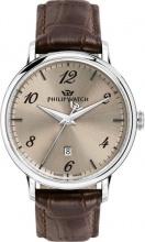 Philip Watch R8251595004 Orologio Uomo Quarzo Cassa Acciaio Cinturino Silver