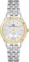 Philip Watch R8253596504 Orologio Donna Quarzo Cassa Acciaio Silver e Oro