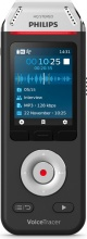 Philips DVT_2810 Dittafono Registratore audio Dragon NeroCromo VoiceTracer DVT2810