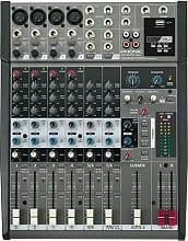 PHONIC AM 1204 FX Mixer per dj 8 canali Jack 3.5 mm USB Ingresso AUX