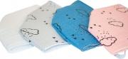 Picci MCA10 Mascherina Protettiva Filtrante NO DPI Oeko-Tex100 Cotone TNT Azzurr