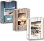 PiesseFoto 80210K Album Portafoto Album Beach Tasche con memo 200 Foto 13x19