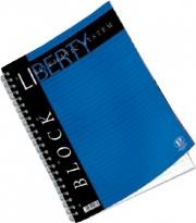 Pigna 01016511R Confezione 5 Blocchi Liberty Spiralati A4 1R 80 fogli