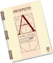 Pigna 0105442BI Confezione 10 Blocchi Architetto A4 Bianco Spiralato fogli 40