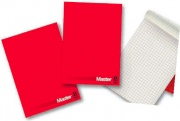 Pigna 0208521BI Confezione 5 Blocchi Collati Master A4 Colore Bianco