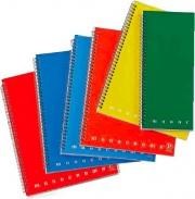 Pigna 02155584M Confezione 5 Maxi Spiralato No Fori A4 4M
